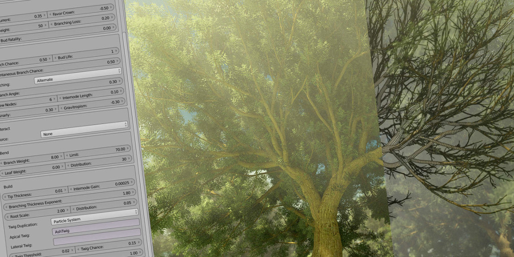 3D Tree Growing Software - The Grove